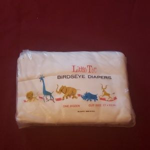 Other - Vintage cloth diapers  (12) 27X27in.